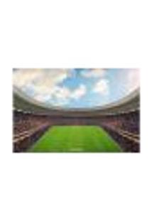 Painel Adesivo De Parede - Campo De Futebol - 1712Png