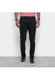 Calça Jeans Slim Redley Black Two Masculina - Masculino-Preto