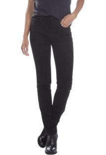 ... Calça Jeans Levis 724 High Rise Straight Feminina - Feminino-Preto 9b399a50f07