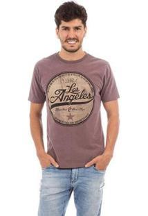 Camiseta Aes 1975 Los Angeles Masculina - Masculino-Lilás