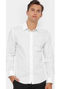 Camisa Social Colcci Regular Fit Masculina - Masculino