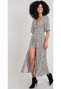 5c65f0894d Vestido Com Fendas Curto feminino