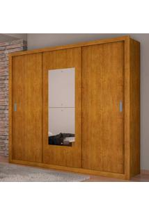 Guarda-Roupa Casal 3 Portas E 4 Gavetas Veneza Premium - Rufato - Imbuia