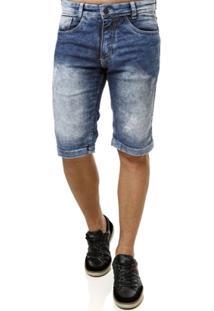 Bermuda Jeans Vels Masculina - Masculino