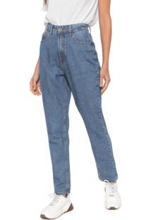 42fc3d93b ... Calça Jeans Hering Boyfriend Estonada Azul