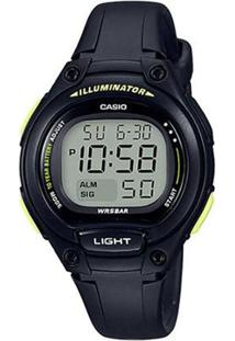 Relógio Feminino Casio Lw-203-1Bvdf - Unissex-Preto