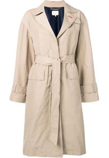 Tommy Hilfiger Trench Coat Clássico - Neutro