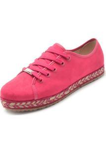 Tênis Moleca Fosco Pink
