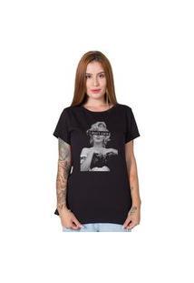 Camiseta Feminina Stoned I Don'T Care Preto
