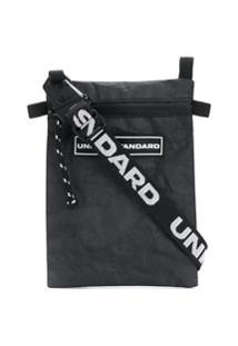United Standard Bolsa Carteiro Com Patch De Logo - Preto