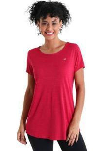 Camiseta Líquido Levíssima Energy Feminina - Feminino-Rosa