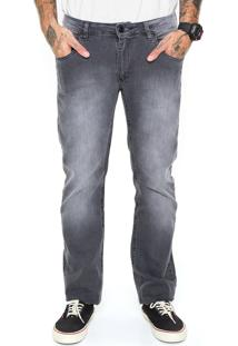 Calça Jeans Rusty Slim Flipside Preta
