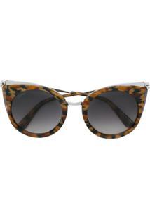 1c3cd7300e8 Óculos De Sol Fram Marrom feminino