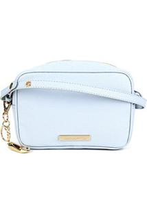Bolsa Clucth Loucos & Santos Floter Soft-Lclf01094 - Feminino-Azul Claro