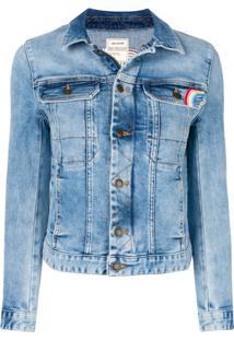 Zadig&Voltaire Jaqueta Jeans Love - Azul