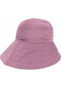 The Attico Chapéu Bucket Assimétrico - Roxo
