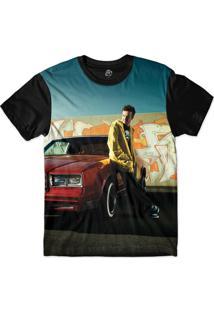 Camiseta Bsc Jesse Pinkman Sublimada Preto
