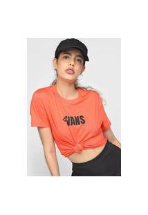Camiseta Vans Brand Band Laranja