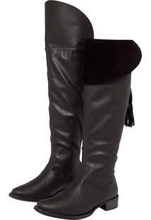 039c745e20adb Bota Beira Rio Over Knee feminina   Shoelover