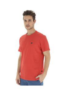Camiseta Oakley Patch - Masculina - Vermelho
