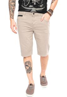 Bermuda Sarja Element Walk 5Pocket Stitch Cinza