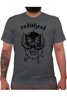 Radiohead - Camiseta Clássica Premium Masculina