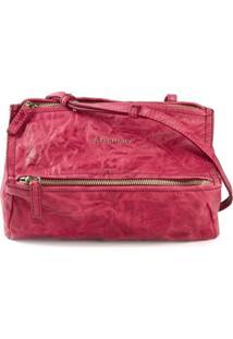 Givenchy Small 'Pandora' Shoulder Bag - Rosa