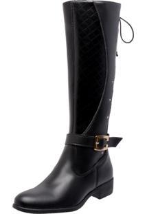 Bota Montaria Mega Boots 947 Preta - Kanui