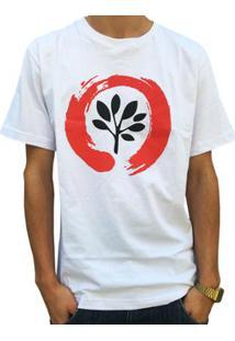 Camiseta Pgs Logo Masculina - Masculino-Branco