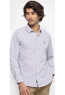 Camisa Aleatory Slim Fit Masculina - Masculino