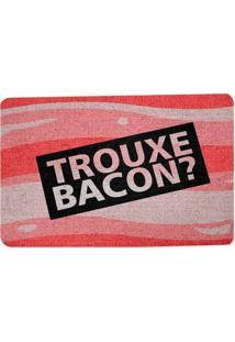 Capacho Geek10 Ecológico Trouxe Bacon
