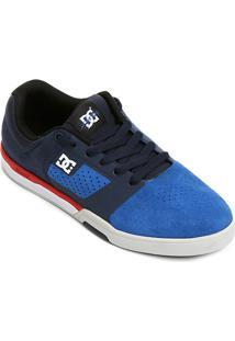 Tênis Dc Shoes Cole Lite 2 - Masculino-Marinho+Azul