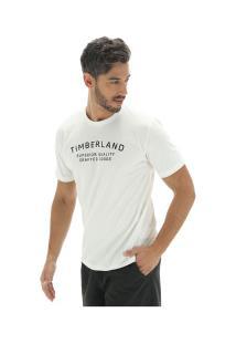 Camiseta Timberland Kennebec Rvr Elevated - Masculina - Bege