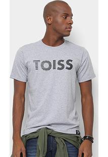 Camiseta Toiss Logo Riscado Masculina - Masculino