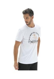 Camiseta Timberland Backpackers - Masculina - Branco