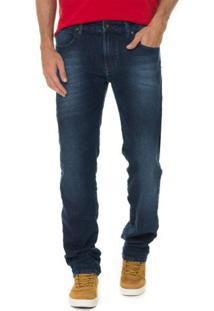 Calça Jeans Timberland Blue Straight
