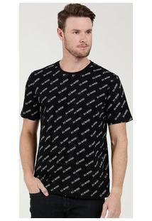 Camiseta Masculina Estampada Manga Curta Marisa