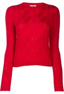 Chloé Suéter De Tricô - Vermelho