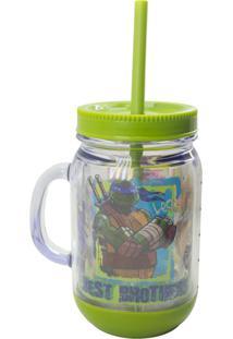 Caneca Minas De Presentes Tartarugas Ninja Verde - Kanui