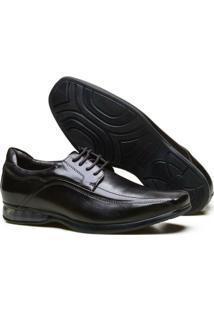 Sapato Casual Calvest Supertech Air Couro Nobre E Atacador Masculino - Masculino-Café
