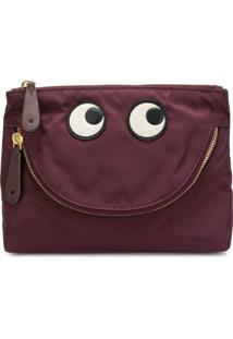 Anya Hindmarch Nécessaire 'Happpy Eyes' - Rosa
