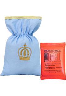 Bolsa Térmica Padroeira Baby Coroa Luxo Azul