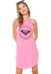 ... Vestido Roxy Curto Believe Pink 1ef34c9cfb4bc
