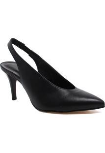 Sapato Zariff Shoes Salto Fino Preto