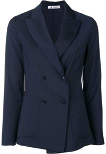 Barena Double-Breasted Blazer - Azul