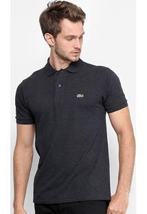 Camisa Polo Lacoste Piquet Masculina - Masculino