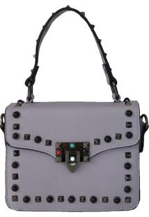 Bolsa Bag Dreams Lolly Com Spikes Lilã¡S - Roxo - Feminino - Dafiti