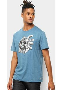 Camiseta Mcd Regular Skull Hand - Masculino