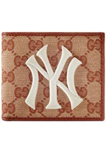 Gucci Carteira Gg Com Patch New York Yankees™ - Neutro