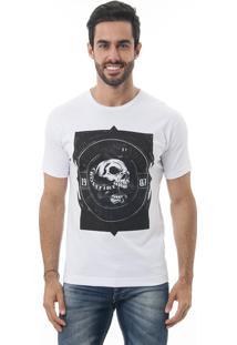 Camiseta Manga Curta Crossfire Snake Branco